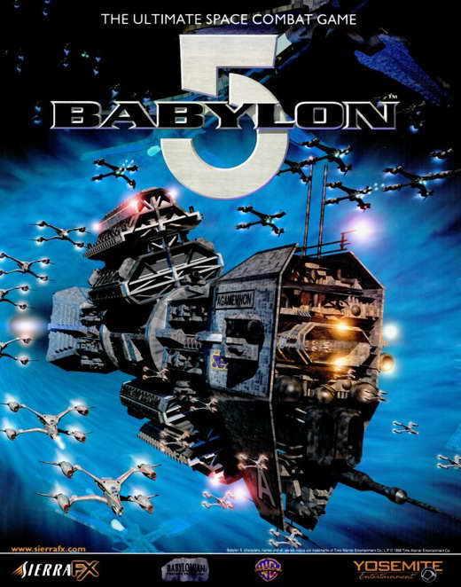 BABYLON 5 Movie POSTER 22x28 Half Sheet Michael O