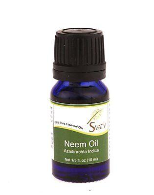 SVATV Neem (Azadirachta indica) ätherisches Öl 100% rein - 10 ml (1/3
