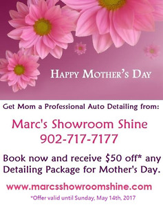 Mother's Day Special - Gift Certificates Available
