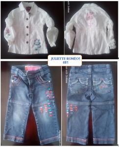 Vêtements bébé fille - 24 mois
