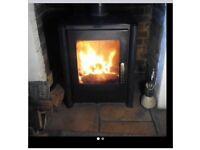 Multi Fuel stove log burner 10KW