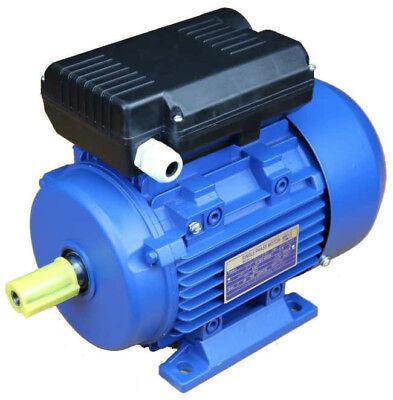 Electric Motor 3KW (4HP), Single Phase, 4 POLE, 1400rpm 1500rpm B3, 230V 240V - 3 Kw Single