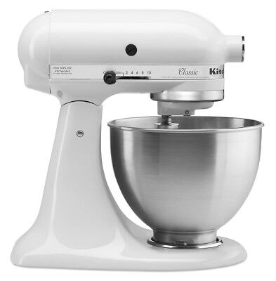 KitchenAid Stand Mixer 10 Speed Blender Stainless Bowl 4,5 Quart Classic Plus