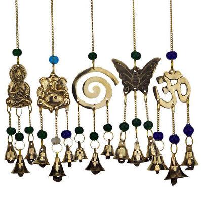 chen Buddha Ganesha Schmetterling Om Spirale  (Schmetterling Windspiel)