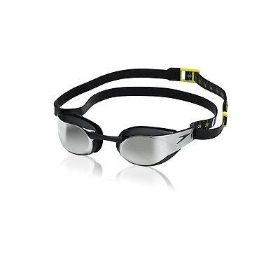 Speedo Fastskin3 Elite Mirrored Swimming Goggle Black