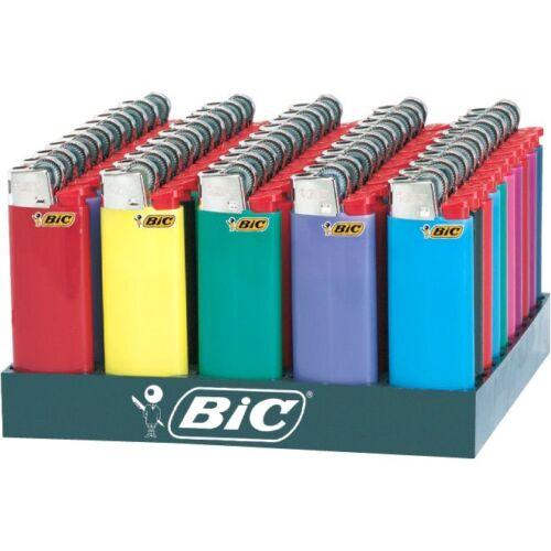 BIC Mini Lighters Counter Display of 50