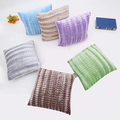 Pillow Case Sofa Waist Throw Cushion Cover Home Secant Fringe Cushion Cover Case