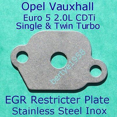EGR Restricter Plate 2.0 CDTi Vauxhall Opel Astra J Insignia Zafira Tourer C EU5