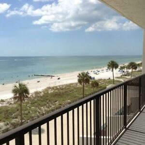 Ocean Front Condo for Rent - Madeira Beach Florida