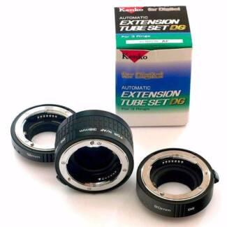 Kenko DG Nikon AF Extension Tubes Set (36mm 20mm 12mm)