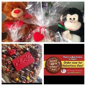 Valentines Day Cookie Gram packages Chocolate handcuffs