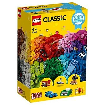 LEGO 11005 CLASSIC Creative Fun 900pcs Ideas Included 4+ Kids Fun Build Play NEW
