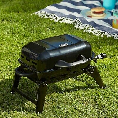 Portable Mini Gas BBQ Outdoor Camping Lightweight Travel Barbecue Grill BNIB