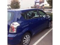URGENT Car 7 Seater Seats car Toyota Verso LONG MOT + NO DENTS + Service history Not vauxhall zafira
