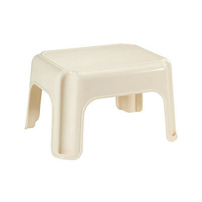 (Rubbermaid 4200-87-BISQ Step Stool with 4-Skid Resistant Feet, Bisque)
