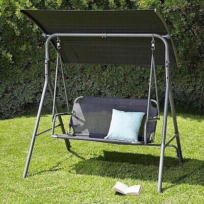 Stylish Modern Swing Seat Garden Outdoor (2 Seater) UK Seller✅ Fast/Free P&P🚚💨