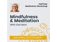 Mindfulness & Meditation - Half Day Workshop