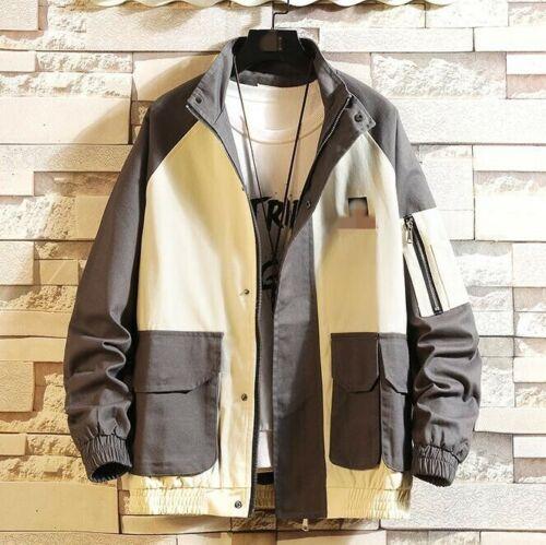 Men/'s Winter Warm Bomber Jacket Flight Coat Military Baseball Outwear Jackets