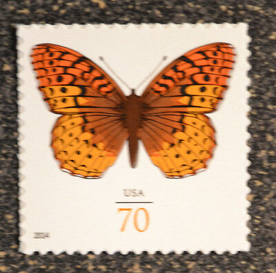 USA2014  4859  70C GREAT SPANGLED FRITILLARY BUTTERFLY SINGLE FROM SHEET MINT