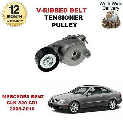 FOR MERCEDES BENZ CLK 320 CDI C209 A209 2005-2010 RIBBED BELT TENSIONER PULLEY