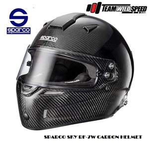 Sparco Sky RF-7W Carbon Helmet - Race or Drift FIA Approved Wetherill Park Fairfield Area Preview
