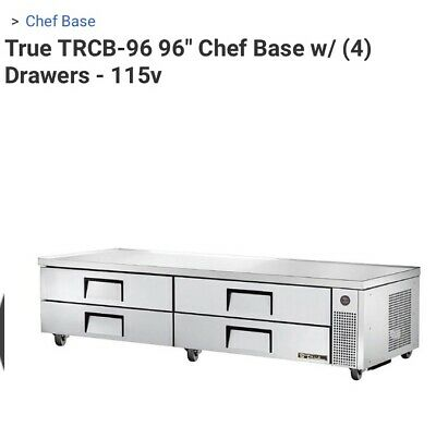 True Trcb-96 Commercial Refrigerator