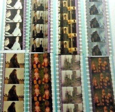 HARRY POTTER FILM CELLS MIX LOT 25 STRIPS = 125 FILM CELLS