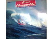 great hawaiian hits vinyl record,lp.