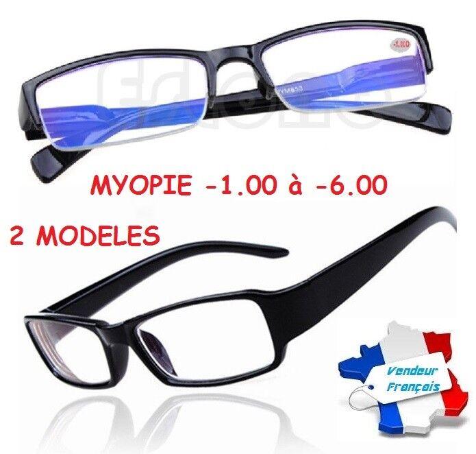 Brille Myopie Kurzsichtige Myopathie -1.00 à -6.00 Lupe Lese- Damen Herren
