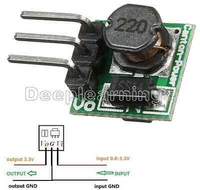Dc-dc 0.8-3.3v To 3.3v Step Up Boost Power Module Voltage Converter Mini Arduino