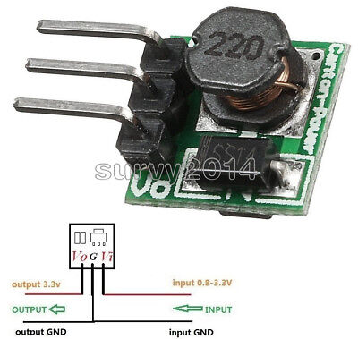 Mini Dc-dc 0.8-3.3v To 3.3v Step Up Boost Power Module Voltage Converter