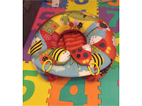 Redkite Garden Gang Inflatable Baby Sit Me Up Ring / Sit and Play Nest