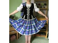 Full aboyne outfit/ flora outfit highland dancing