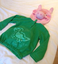 Peppa Pig 'George' dressing up outfit 3-5yrs