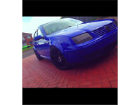 Vw Bora 1.9 diesel blue Modififed/DUB/Lowered/VAG