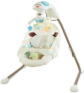 Fisher Price Little lamb cradle'n swing