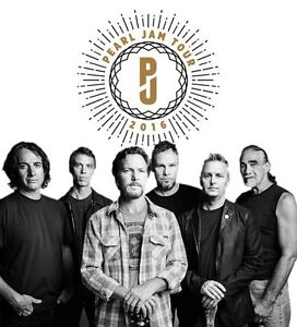 Pearl Jam Tickets - Ottawa, May 8, 2016
