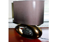 Fancy Chocolate Egg Table Lamp