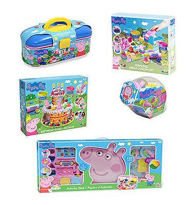 Peppa Pig Picnic Cupcake Or Mega Dough Play Dough Set Activity Official Products ()
