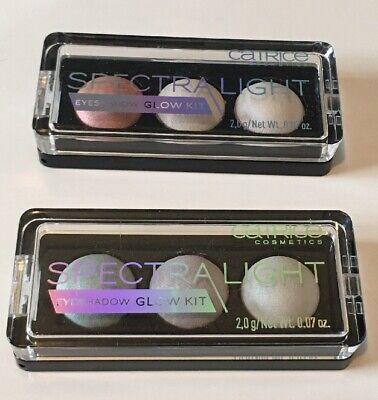 2x CATRICE * Spectra Light * Eyeshadow Glow Kit * NEU *