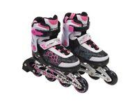 Blindside Inline Skate 7-10(UK) Pink/White