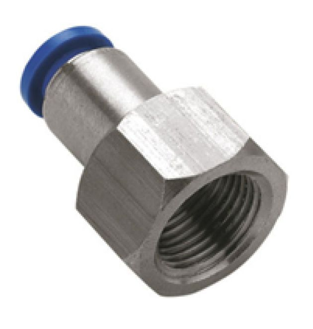 Metal Push In Reducer Pneumatic 8mm to 4mm 6mm 10mm Hose Tube Connector Air Fit