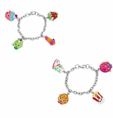 Shopkins Painted Character Charm Bracelets SK-3set42
