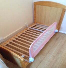 Wooden cot / cotbed /toddler bed