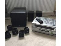 Home Cinema System Onkyo TX-NR609, Boston Subwoofer & Cube speakers & Gale 3010s