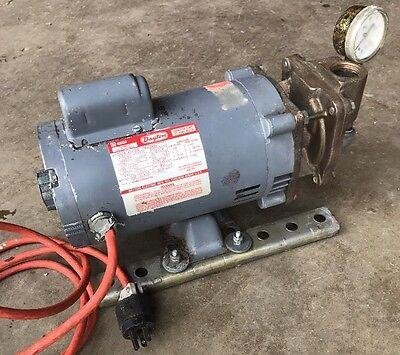 Teel Pump 2p105 34hp 115230v Dayton 6k581a Capacitor Start Jet Pump Motor