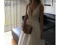 Stunning Ivory Sherri Hill Wedding Dress Size US 0/ UK4/6 £400