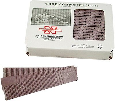 Nelson Composite Shims 32 Shims Per Box No Scoring Needed Nw32 Composite