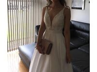 Stunning Sherri Hill Ivory ball gown dress