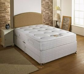 BEST PRICE GUARANTEED // SINGLE DIVAN BASE ONLY £39 ! MATTRESS OPTION AVAILABLE